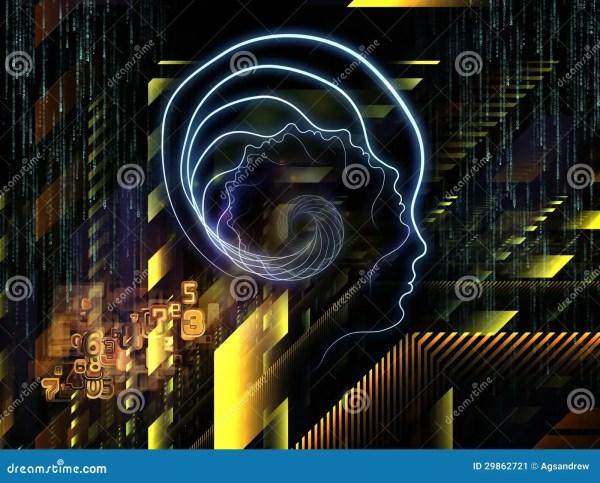 Visualization Of Human Technology Stock