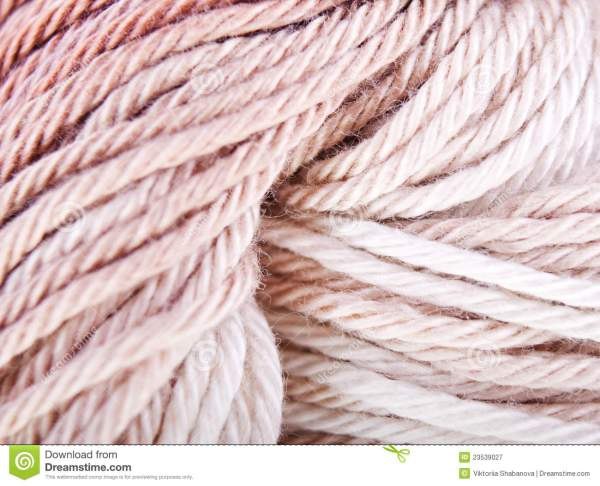 Background Of Knitted Yarn Royalty Free Stock Photography