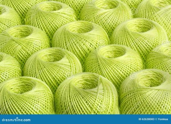 Background Light Green Yarn Stock Photo Image 62638083