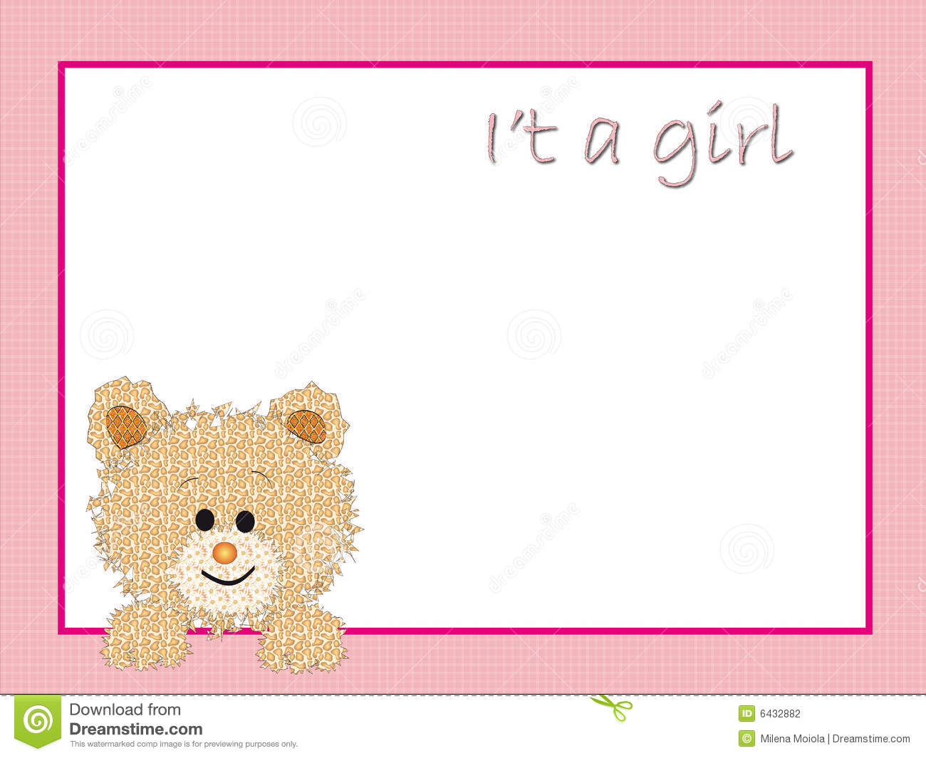 Cute Boy And Girl Wallpaper Download Background For New Born Female Stock Illustration