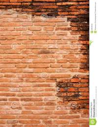 Background Of Old Red Brick Wall Pattern Texture Royalty ...