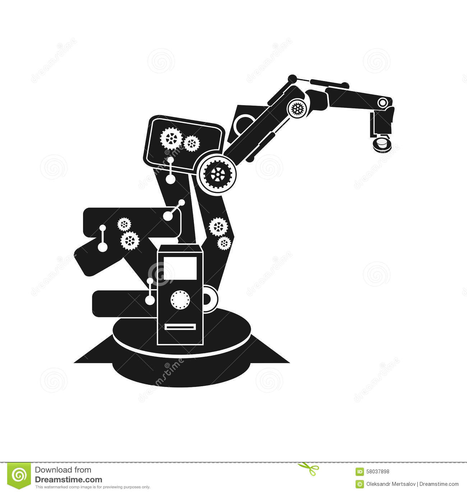 Backgrounds Abstract Vector Robotics Robot Hand Robot