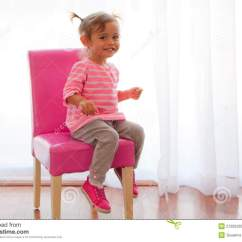 Chair For Toddler Girl Steel Gst Rate Backlit On Pink Stock Image Of