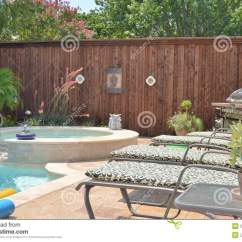 Chair Pool Floats Linen Covers Nz Backyard Grill Stock Image. Image Of Lounge, Beautiful - 26418215