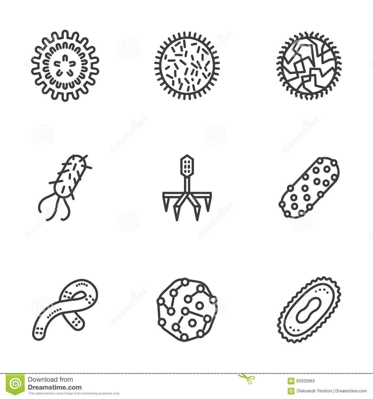 Bacteria Coloring Pages Sketch Coloring Page