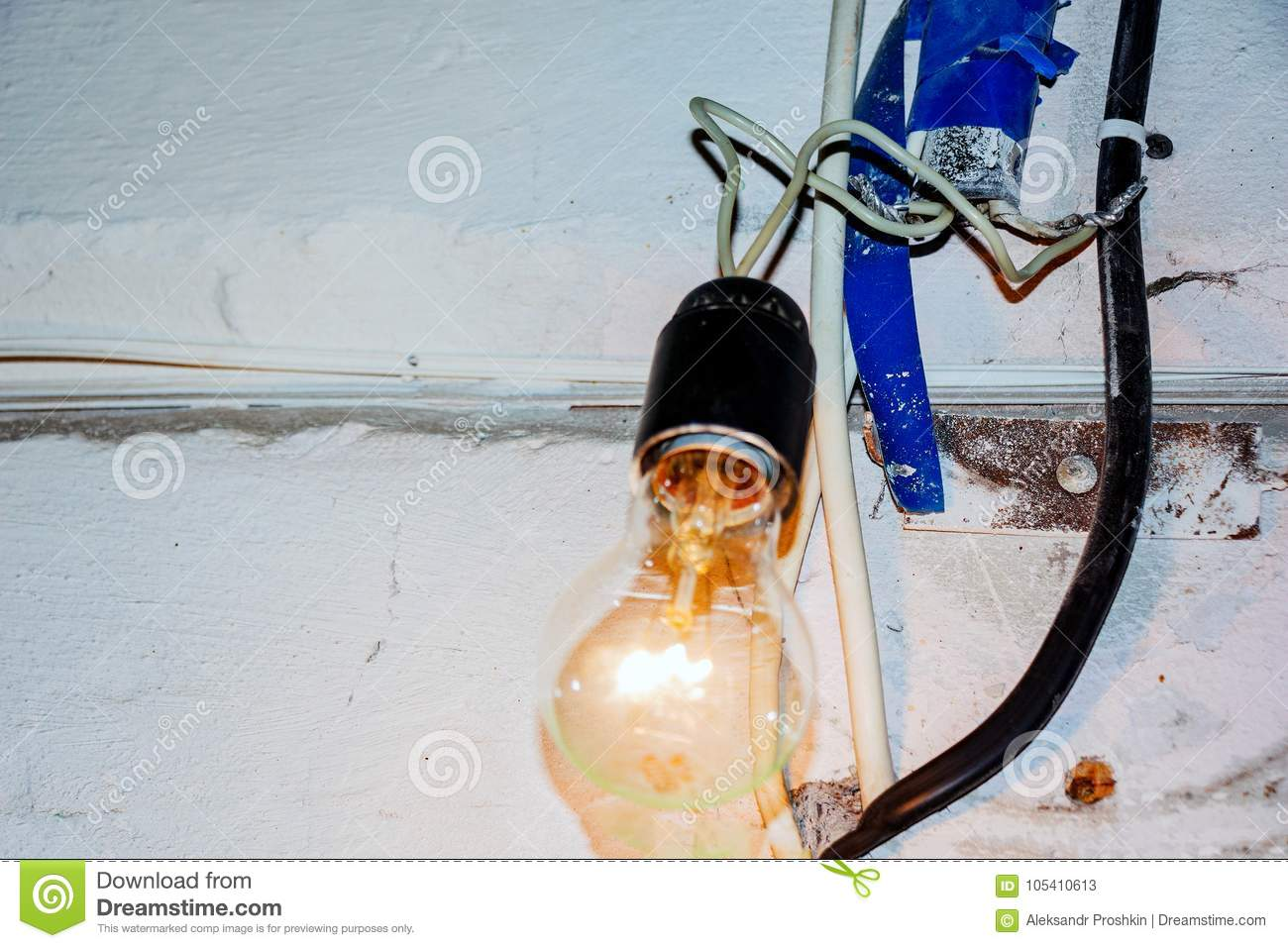 hight resolution of bad electrical wiring