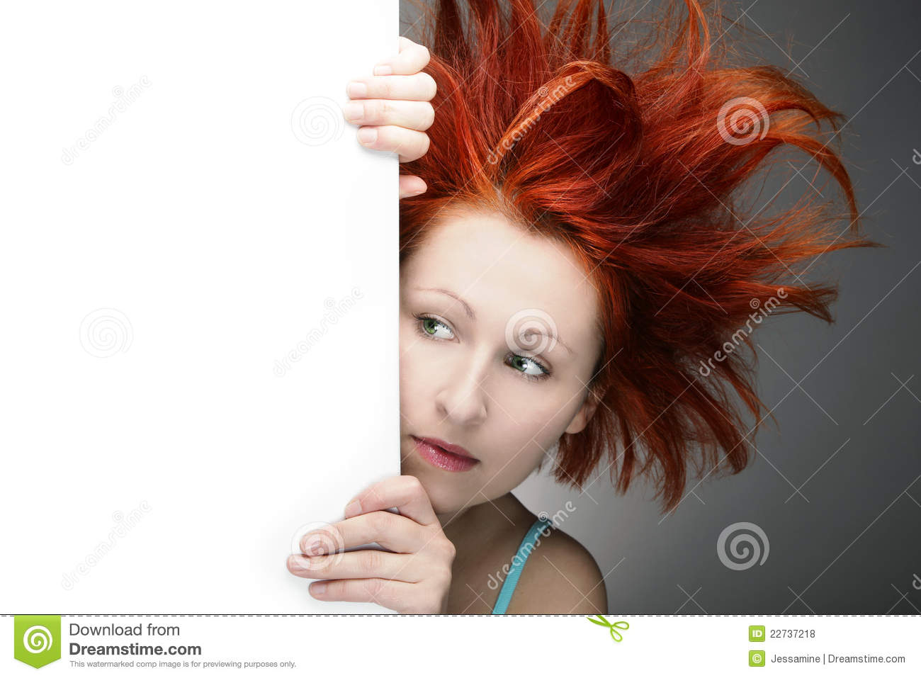 Bad Hair Day Stock Photo Image Of Face Pretty