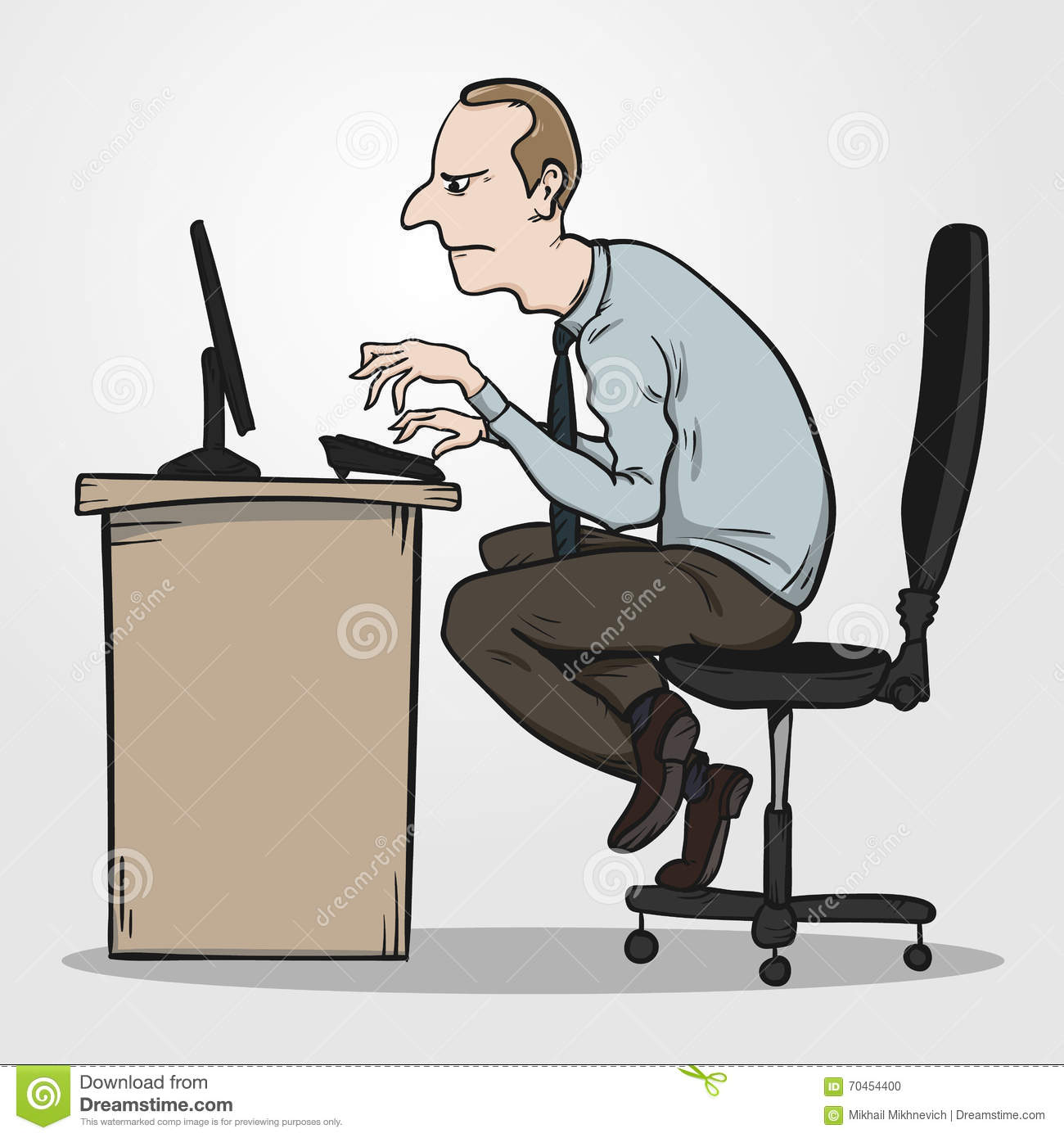 sitting posture on chair in office eames plastic wooden legs bad as the reason for syndrome