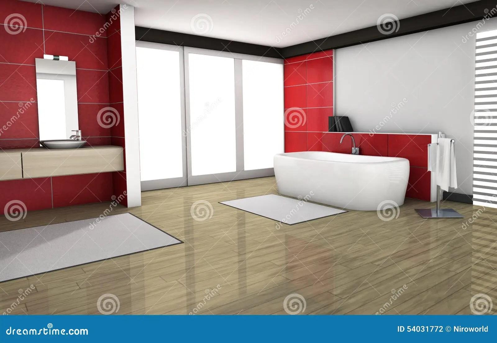 Rote Fliesen Bad Badezimmer Fliesen Rot