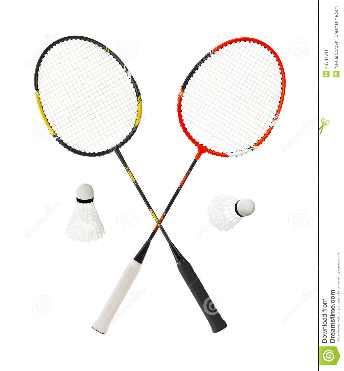 Badminton Racket Stock Image Image Of Equipment