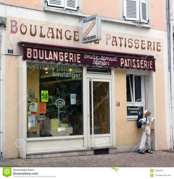 Bakery And Pastry In Avignon France Editorial