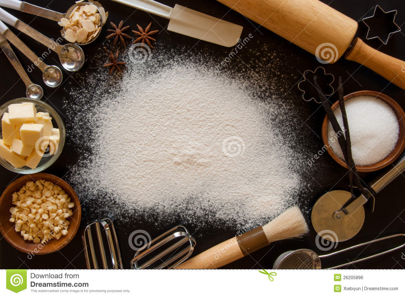 Baking Frame Royalty Free Stock Image  Image 26205896