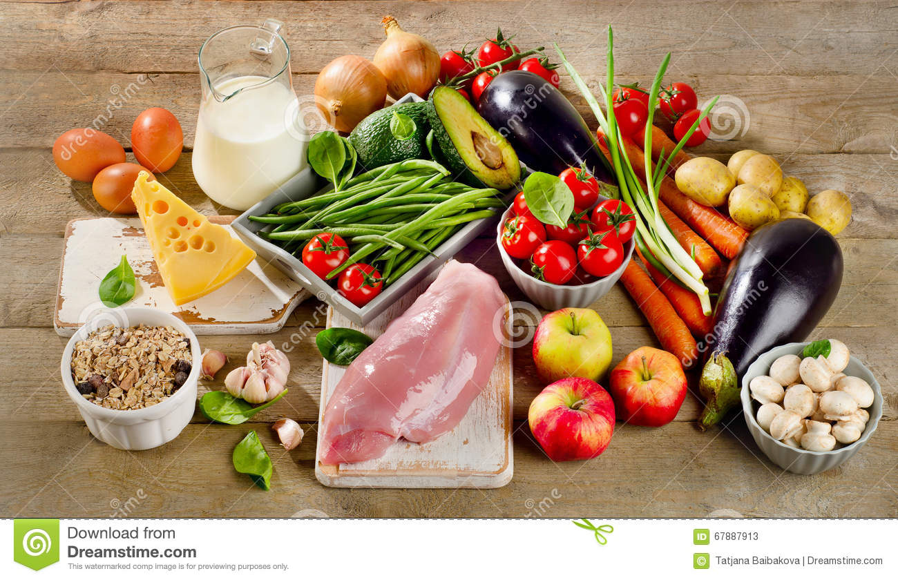 balanced diet cooking and