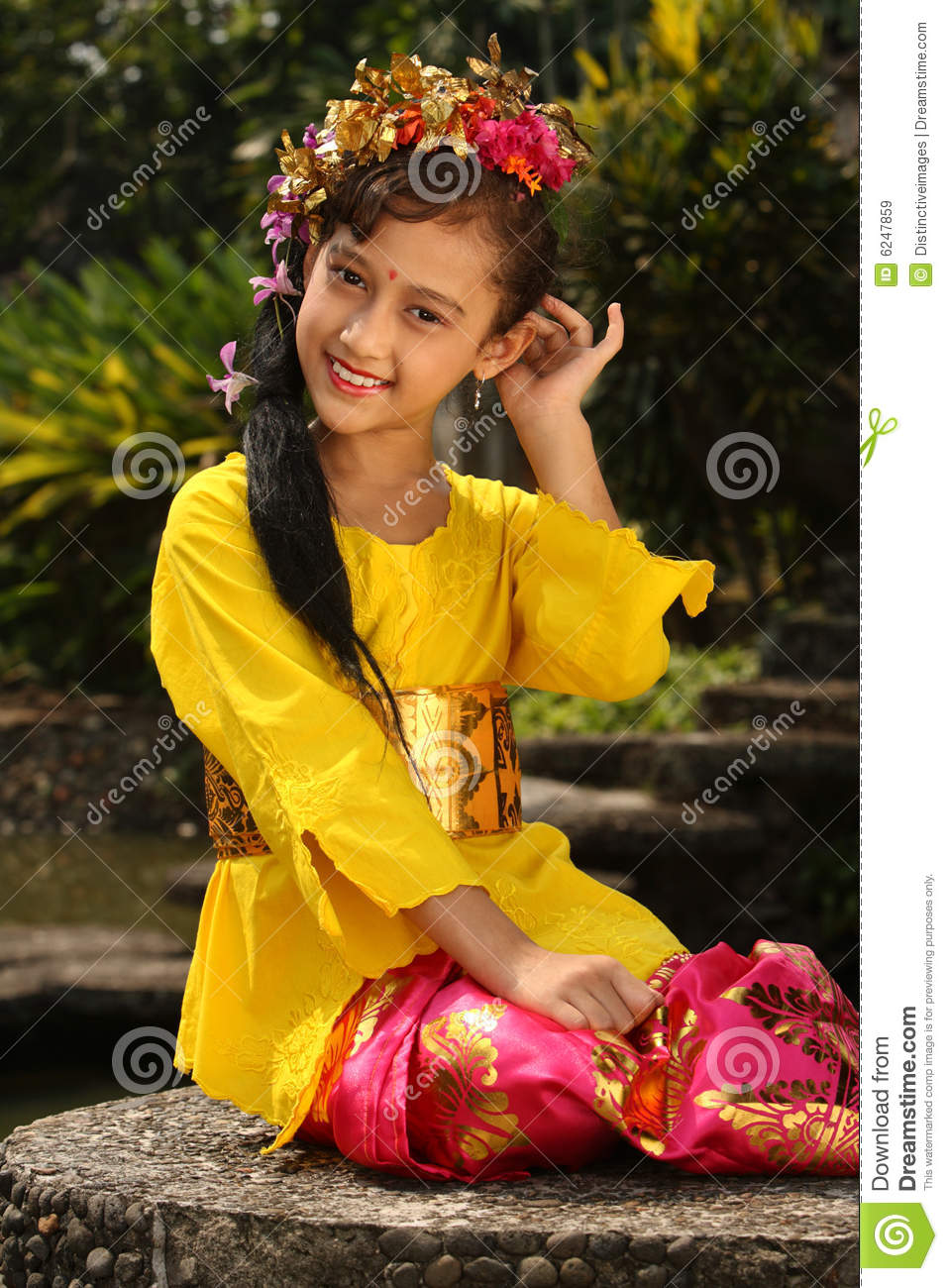 Bali Girl Royalty Free Stock Images Image 6247859