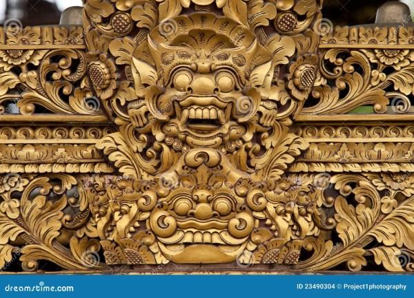 Balinese Sculpture Stock - 23490304