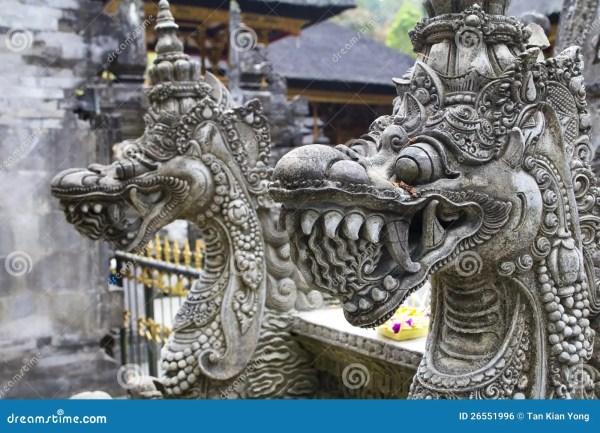 Balinese Dragon Sculpture
