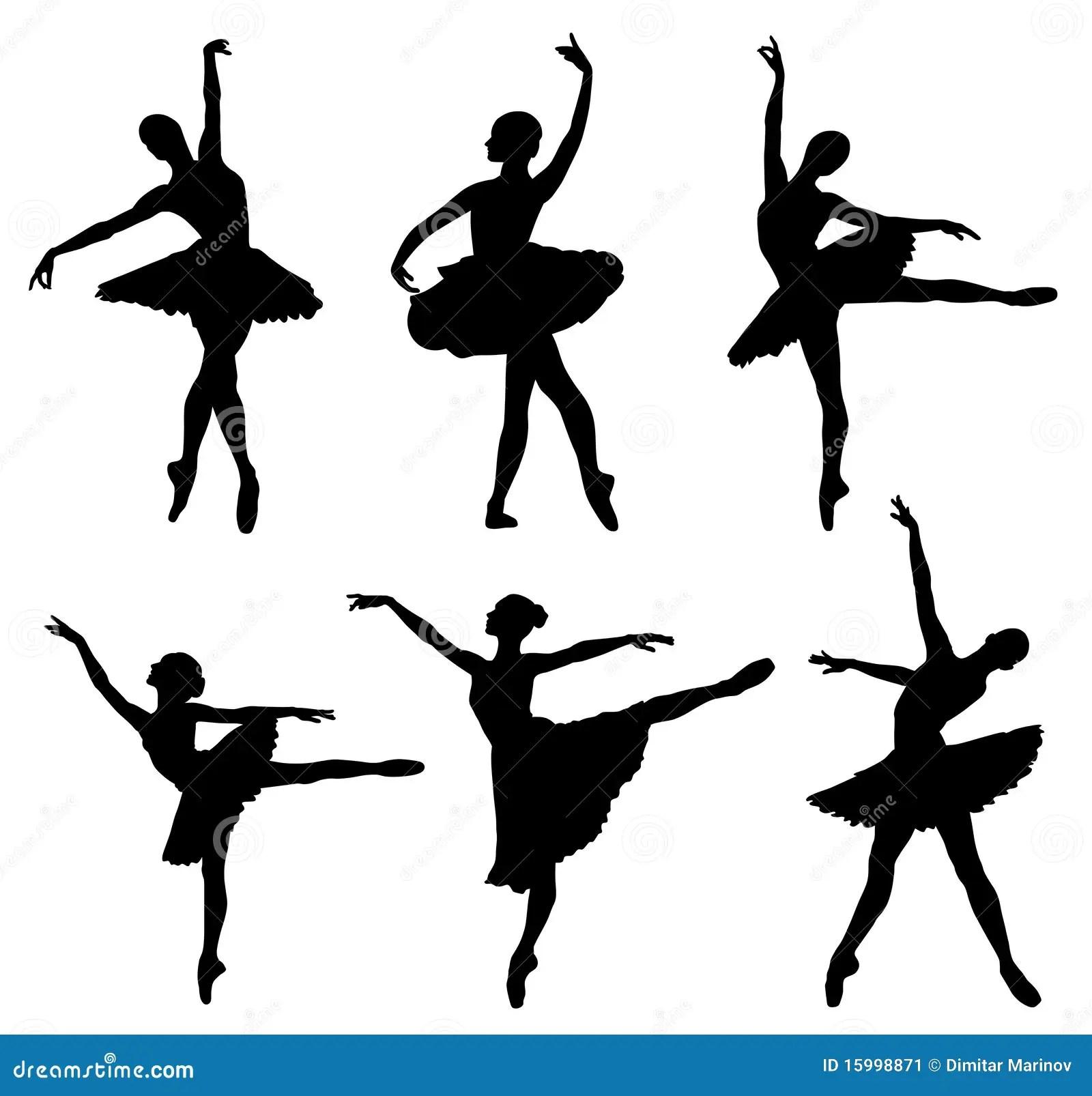 ballerina stock illustration illustration