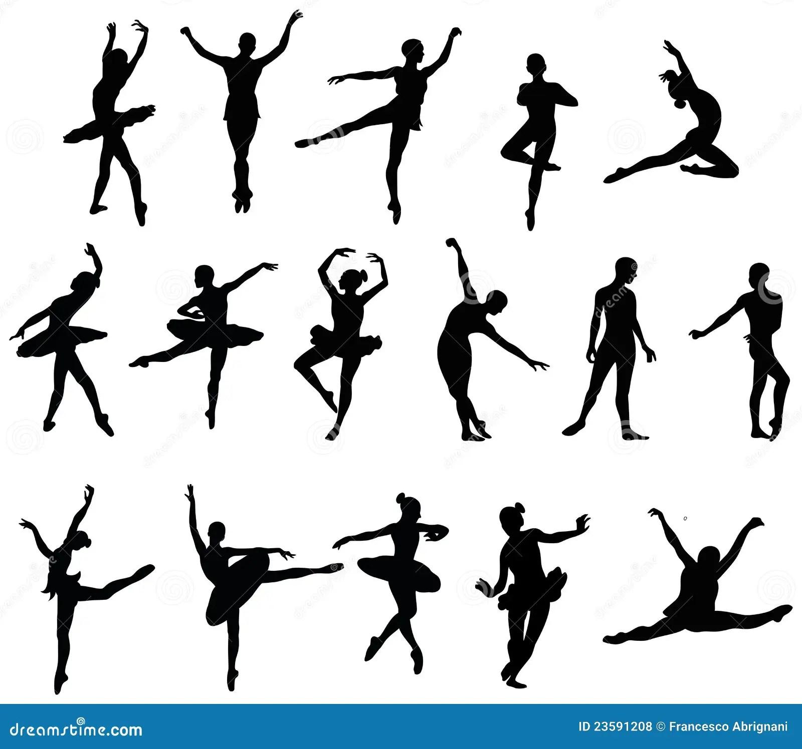 Balletdanser Vector Illustratie Illustratie Bestaande Uit