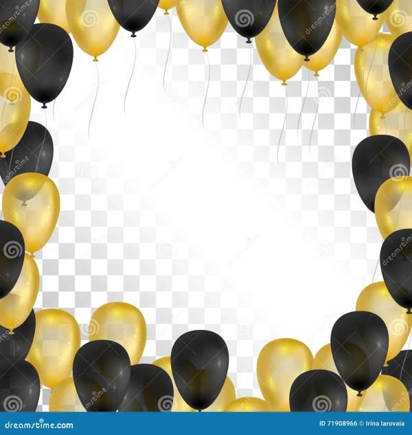 ballons op transparante achtergrond