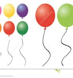 a collection of balloon clipart [ 1300 x 772 Pixel ]