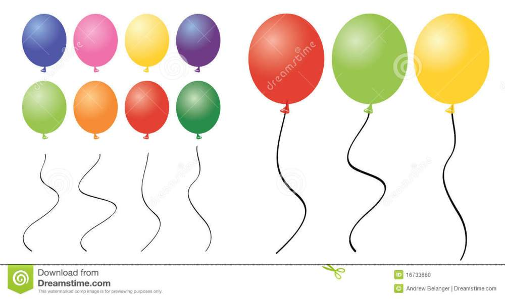 medium resolution of a collection of balloon clipart