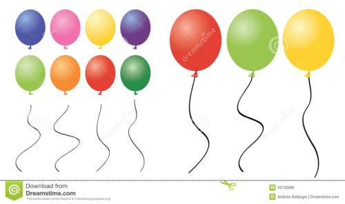 small resolution of a collection of balloon clipart