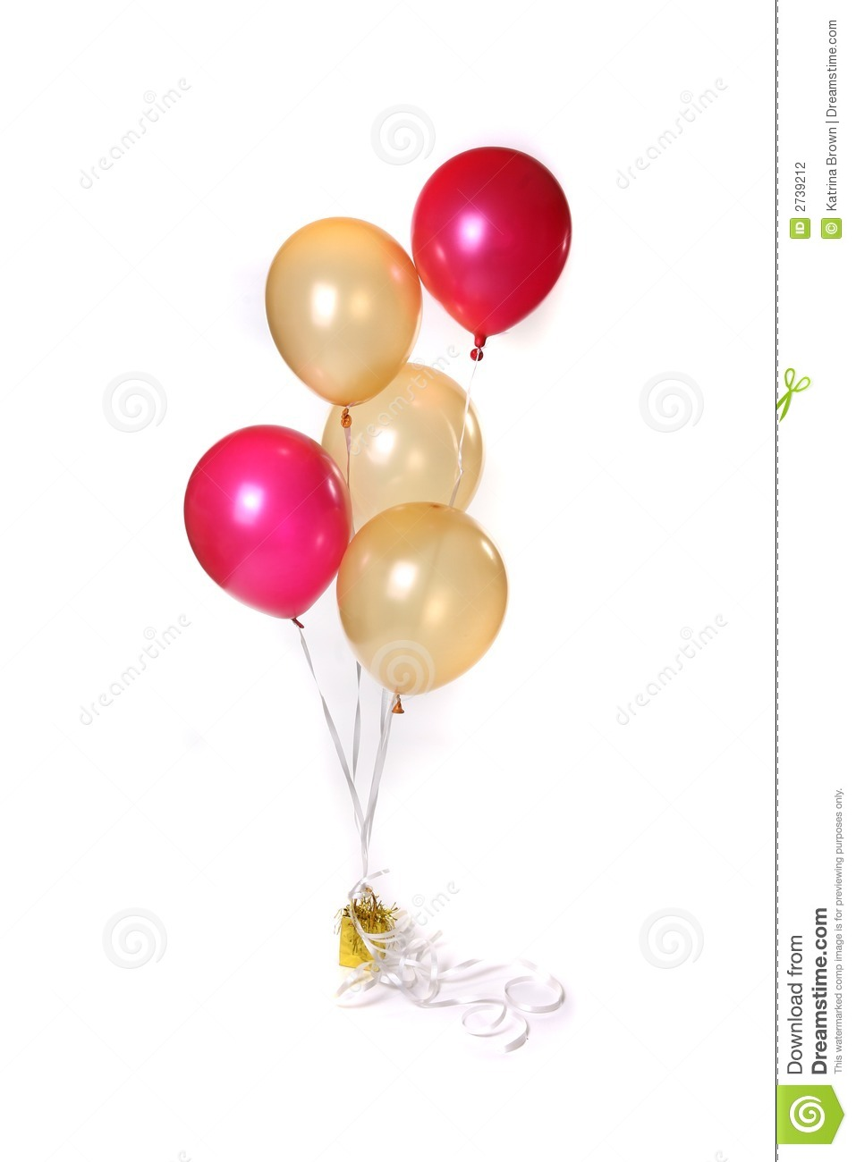 Balloons Tied Together Stock Photography Image 2739212