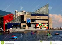 Baltimore Harbor Buidling Editorial