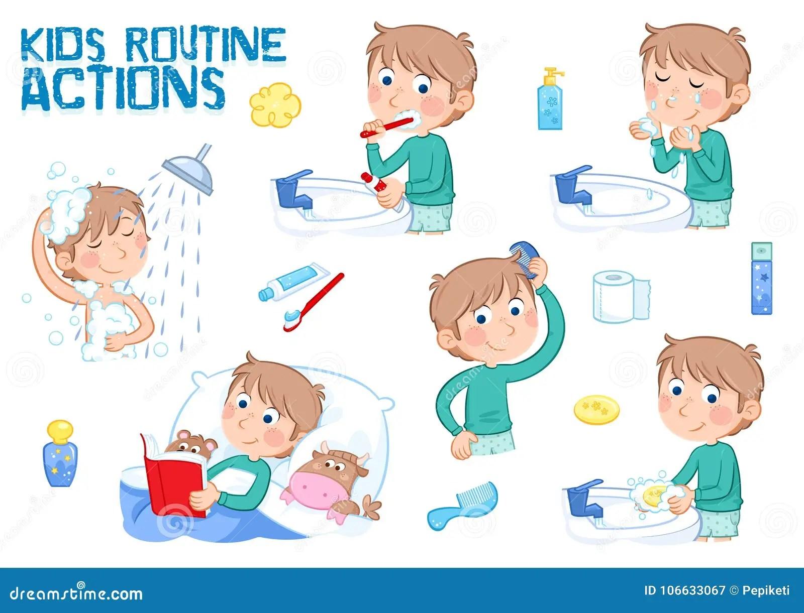 Bambini E Routine Quotidiana