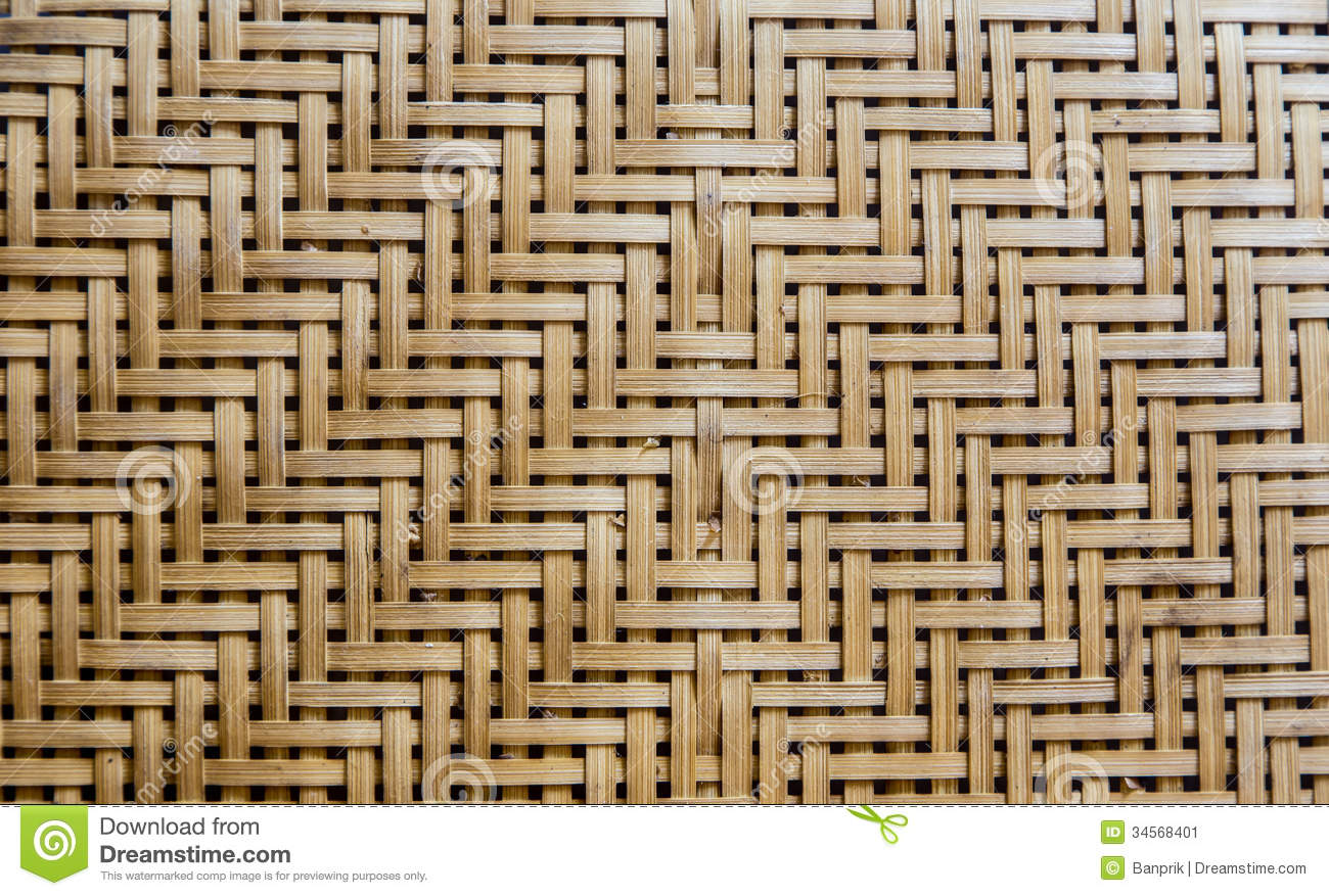 bamboo weave as background