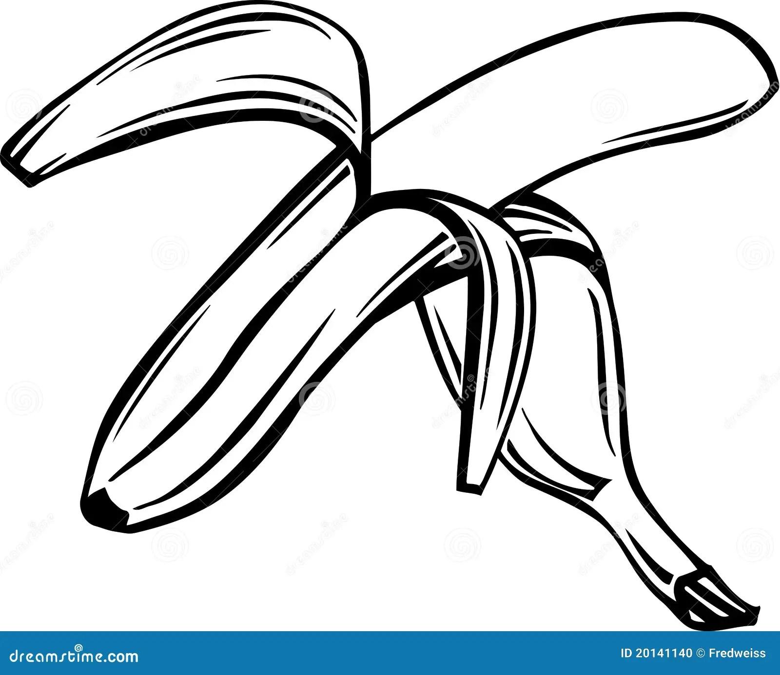 Banana Illustration Stock Photo