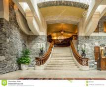 Banff Springs Hotel Editorial Stock