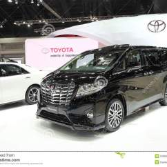 All New Alphard 2021 Harga Filter Udara Grand Avanza Bangkok March 25 Toyota Car On Display