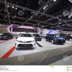 New Yaris Trd Otr Grand Avanza Bangkok November 30 Toyota Sportivo Car On Display