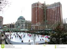 Bank Of America Skating Rink Providence Ri Editorial