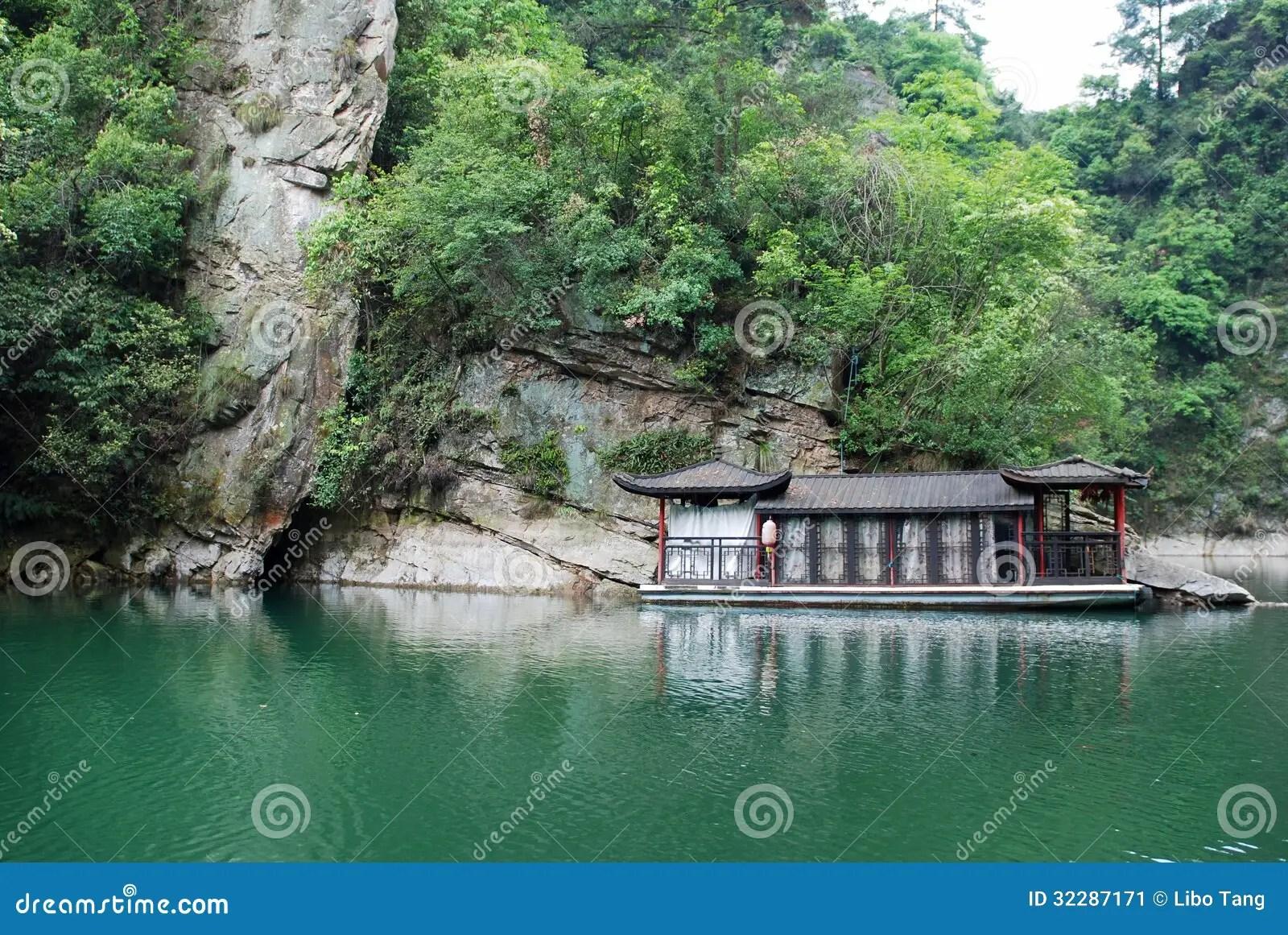 Baofeng Lake In Zhangjiajie Stock Image Image Of National