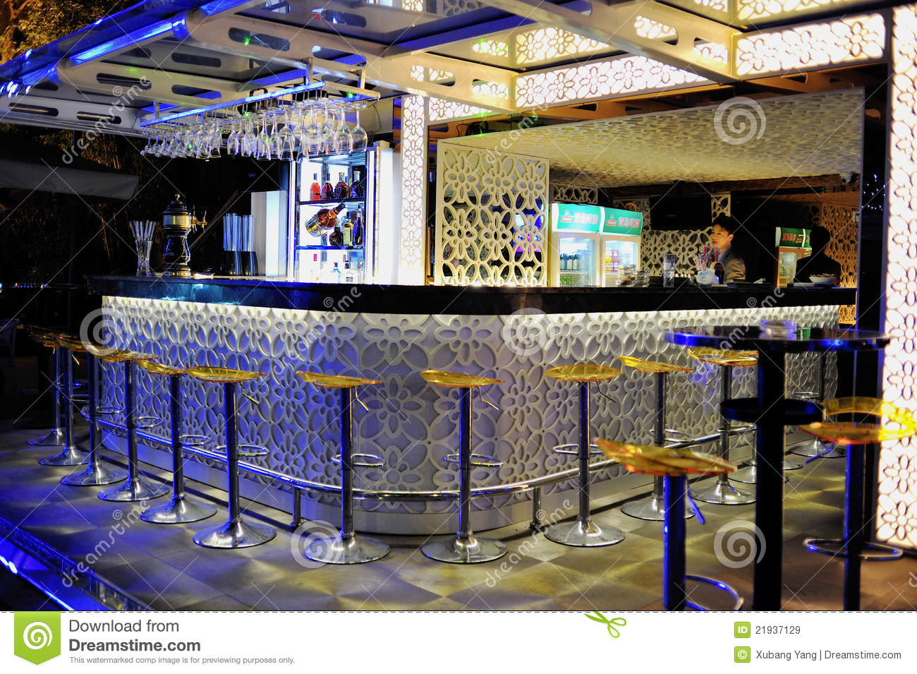 Bar Counter Editorial Stock Image Image Of China Dinner
