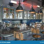 Bar Counter In Restaurant Stock Image Image Of Drink 136331263