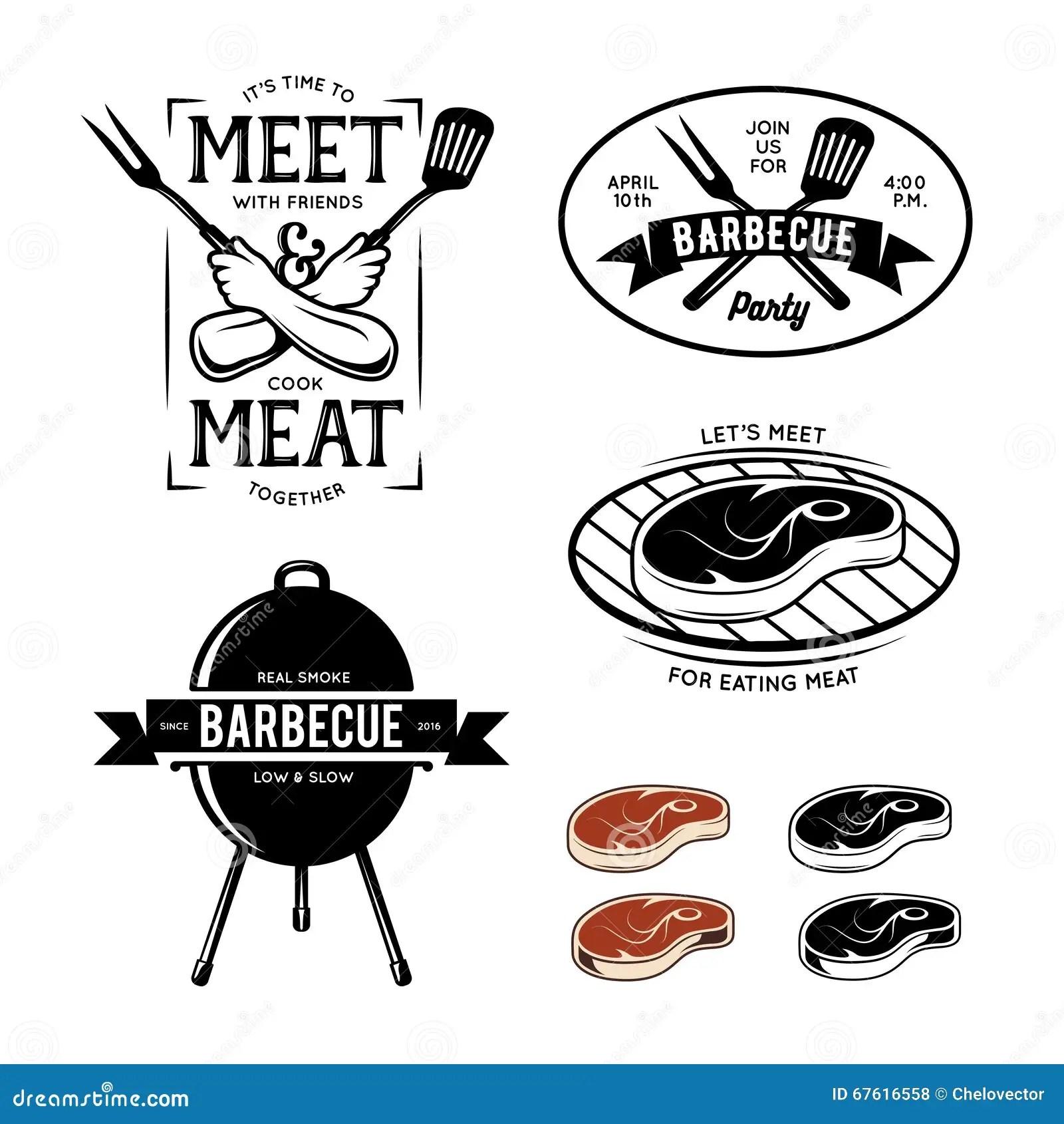 Barbecue Vector Illustration Vector Illustration