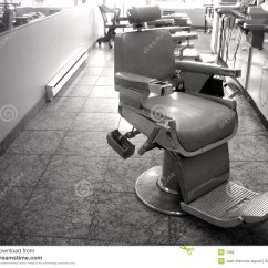 Black White Barber Chair Covers For Parsons Dining Chairs Royalty Free Stock Photos Image 1358