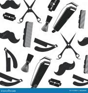barber design. hair salon