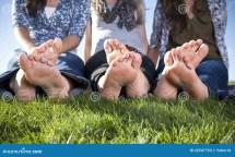 Barefoot Woman Feet