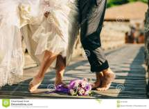 Barefoot Couple Wedding