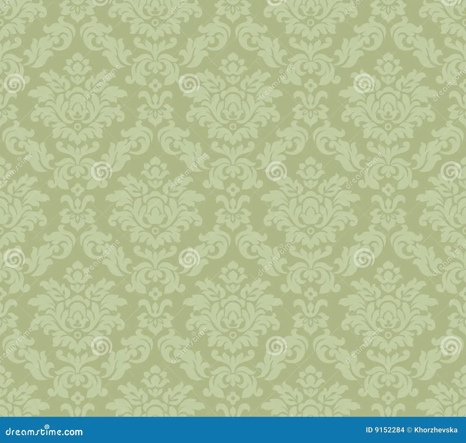 Barok Venetiaans behang vector illustratie Illustratie
