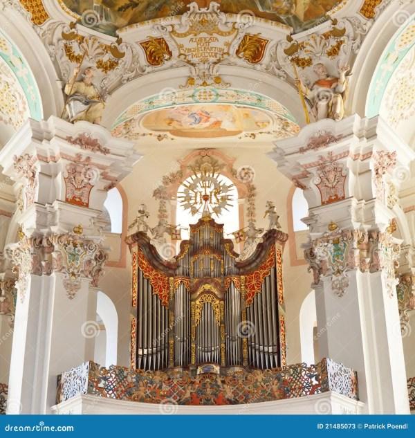 Baroque Church Organ Stock - 21485073
