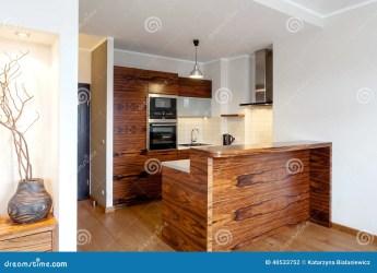 cocina madera barra bar keuken houten archivo horizontal vista