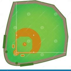 Regulation Baseball Field Diagram Reading Automotive Wiring Diagrams Diamond Royalty Free Stock Photos Image 29080088