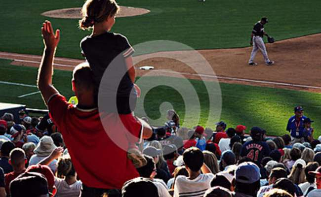 Baseball Game In Cleveland Editorial Image Image Of Fans