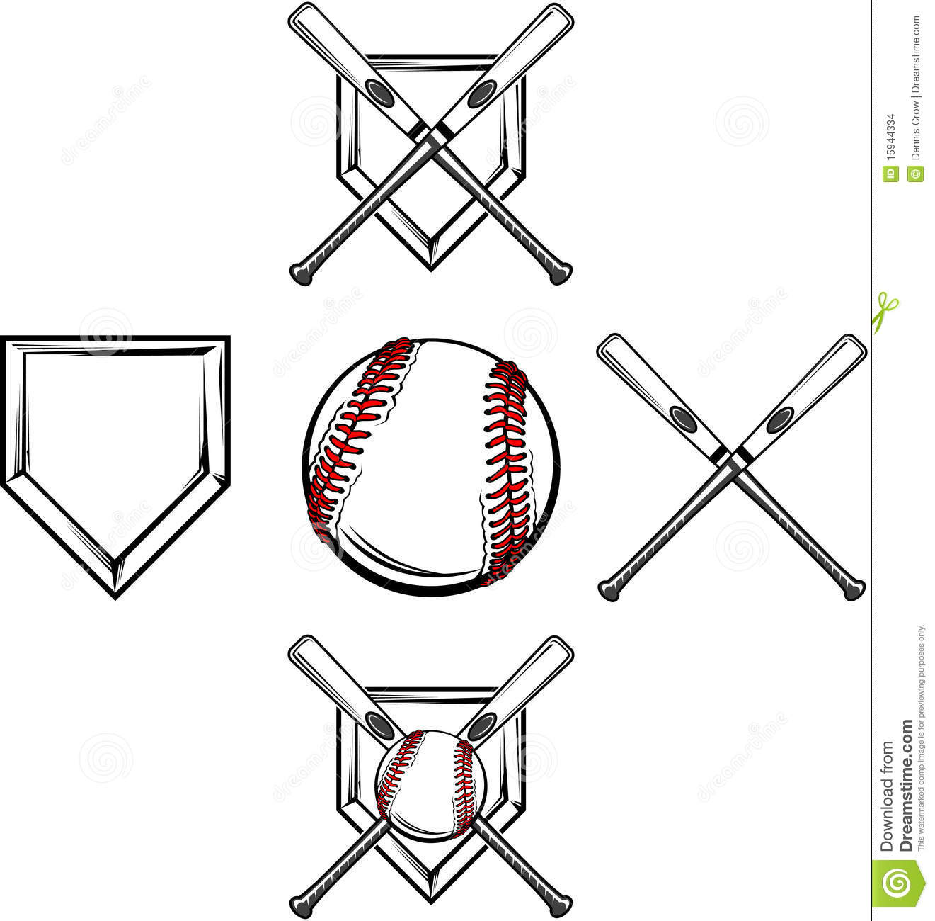 Baseball Softball Images Stock Images