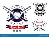 Free Backyard Baseball. Baseball Sport Team Badges Stock ...
